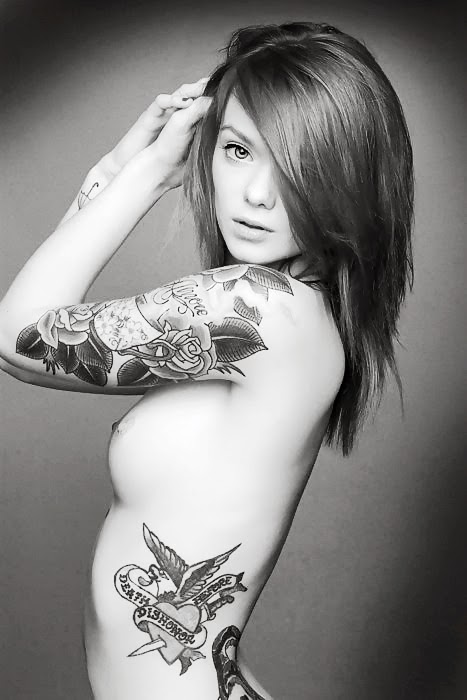 tatoo hot girl
