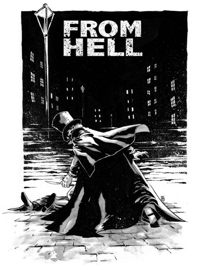 Resultado de imagen de from hell novela grafica